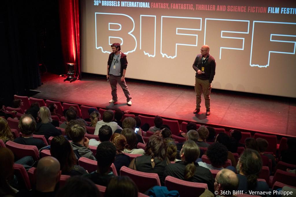 Alexandre Drouet et Hugues Hausman au BIFFF